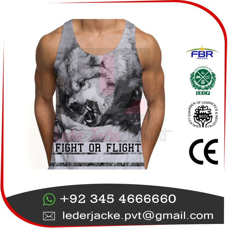 Wholesale singlets custom Tank Top