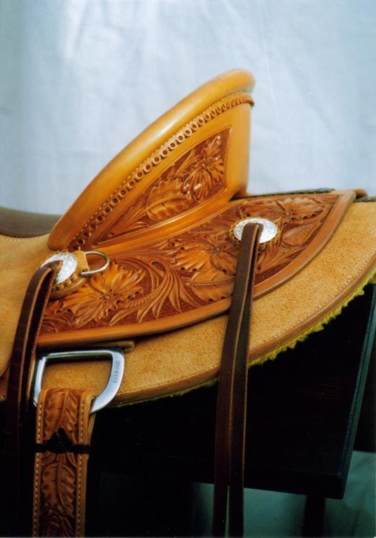 Saddles - Custom Saddles, Wade Saddles, Cowboy Gear - Steve Mason Saddlery