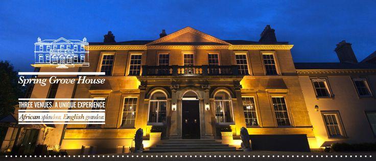 Spring Grove House Wedding Venue, Conference & Corporate Venue West Midlands, Worcestershire
