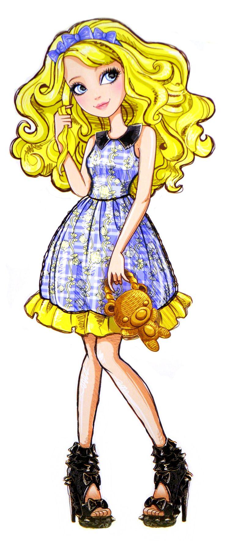 Blondie Lockes - Ever After High Wiki