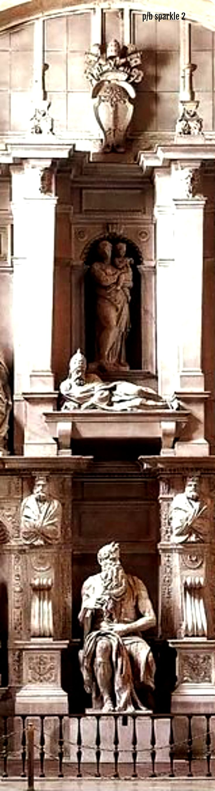 Michelangelo (1475-1564): Tomb of Pope Julius II, 1545