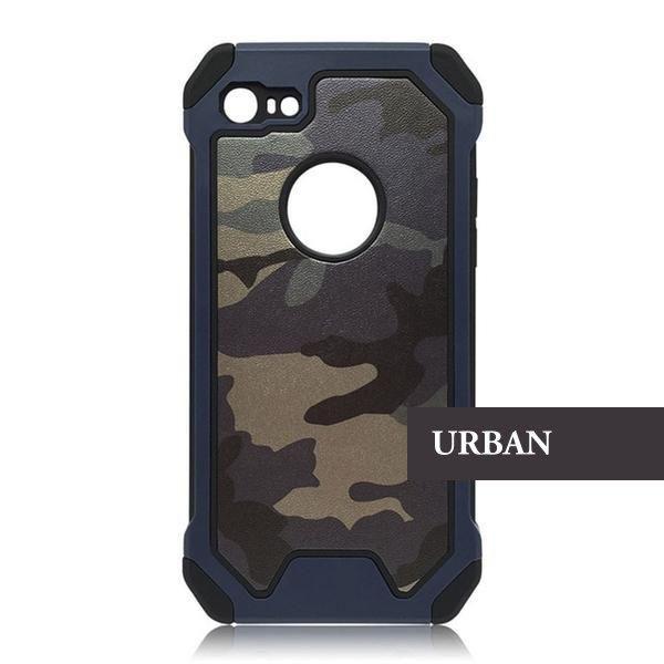 Coque ultra résistante aux couleurs de camouflage militaire pour ...