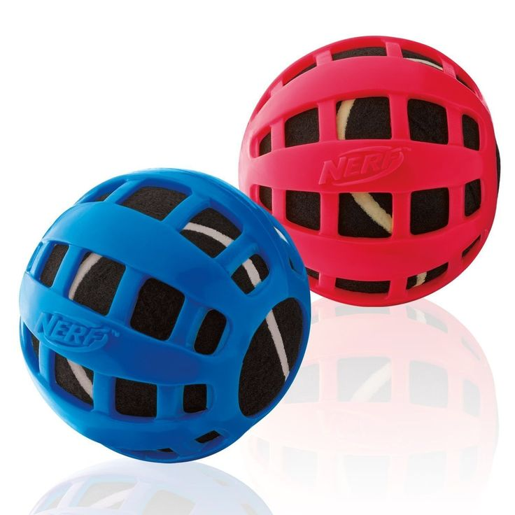 Nerf Dog Squeak Checker Ball, 2.5-inch //Price: USD & FREE Shipping //     #Oxytocin\'s_Worldwide