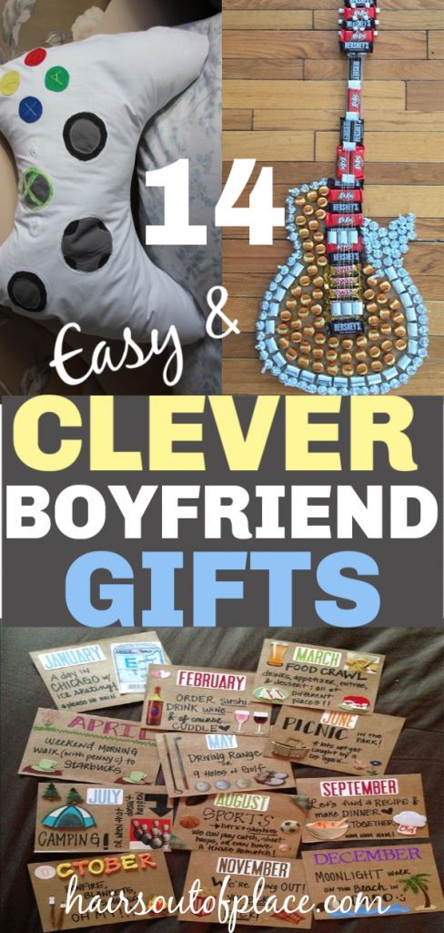 14 Amazing DIY Gifts for Boyfriends That are Sure to Impress –  #amazing #boyfriends #DIY #gi…