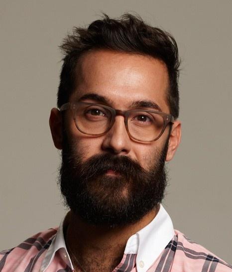 Warby Parker Preston Sandalwood Matte glasses