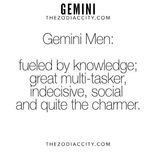 Zodiac Gemini Men. For more interesting facts on the zodiac signs, clickhere.