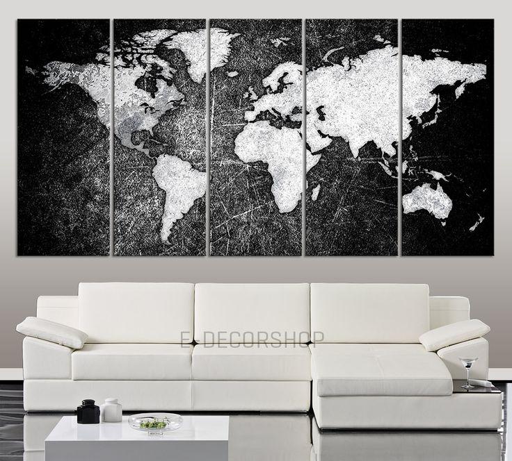 Best 20 black canvas art ideas on pinterest Black and white canvas art
