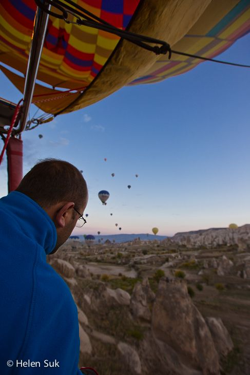 A hot air balloon ride with Sultan Balloons in Cappadocia Turkey. Click to learn more about my experience.