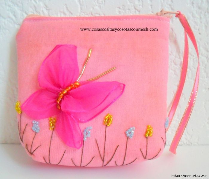 how to sew a cosmetic bag with butterfly (1) (700x600, 234Kb)
