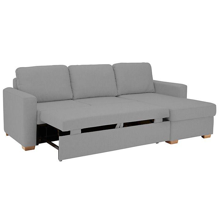Buy John Lewis Sacha Large Sofa Bed, Evora Putty Online at johnlewis.com