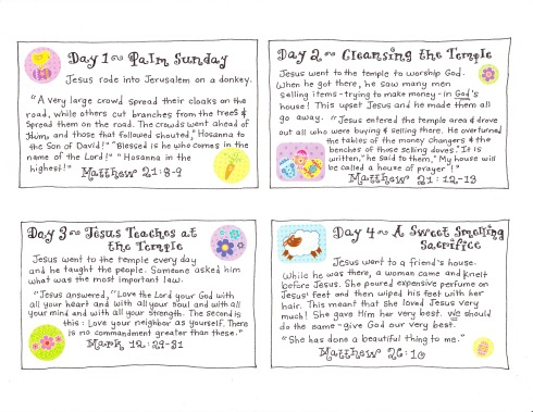 Inflatable Bunnies And The Easter Story Free Printables