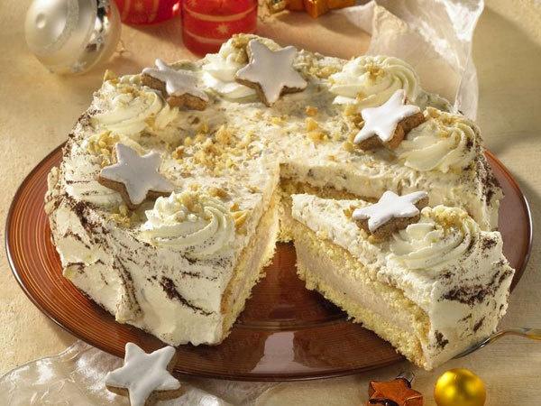 Cinnamon On A Cake