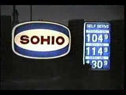 Sohio Standard Oil Weather Commercial (1960s through 1990s)