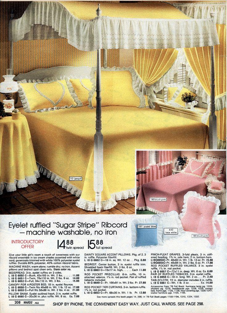 1000 Images About Vintage Bedding On Pinterest