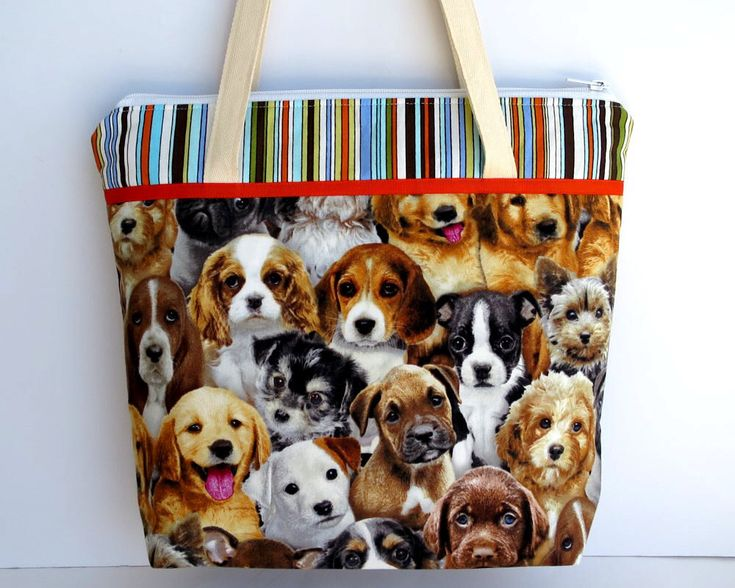 Women's Handbag, Shoulder Bag, Zip Closure with Two Internal Pockets, Crazy Dog Lady, Puppy Dog Bag, Gift for Dog Lover, Dog Bags, Puppies by RachelMadeBoutique on Etsy https://www.etsy.com/au/listing/509432118/womens-handbag-shoulder-bag-zip-closure