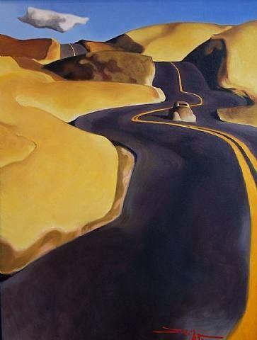 Around the Bend by Z.Z. Wei, 2010