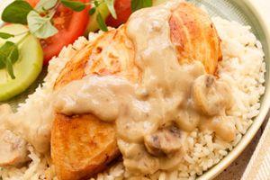Low Fat Chicken Marsala (Points+ = 5)