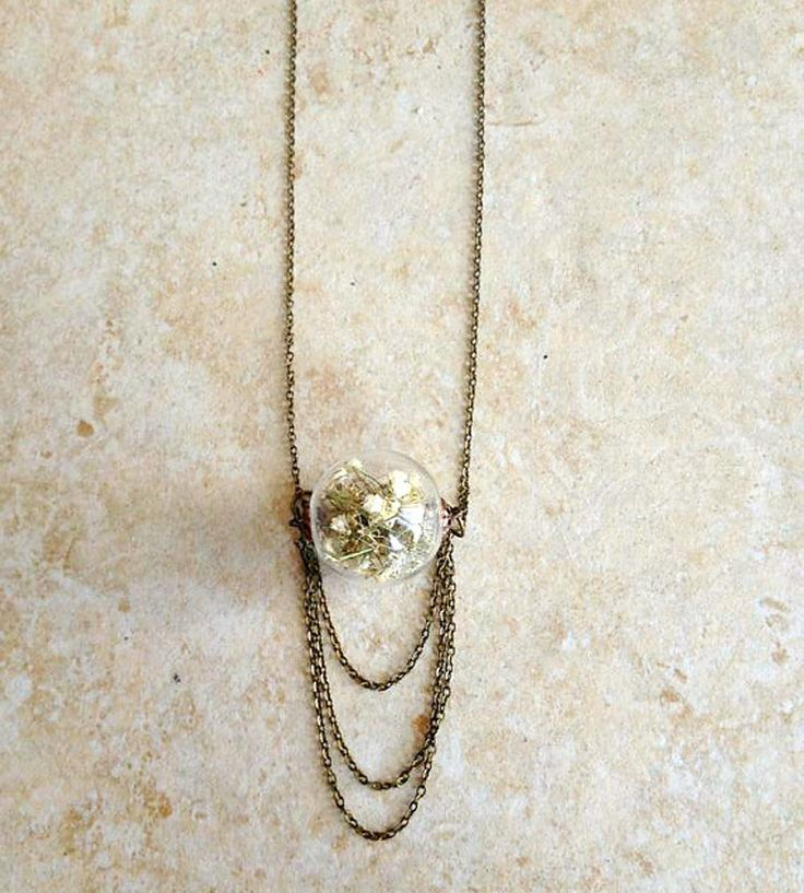 Baby's Breath Pendant Necklace with Draping Chains | Scoutmob Shoppe