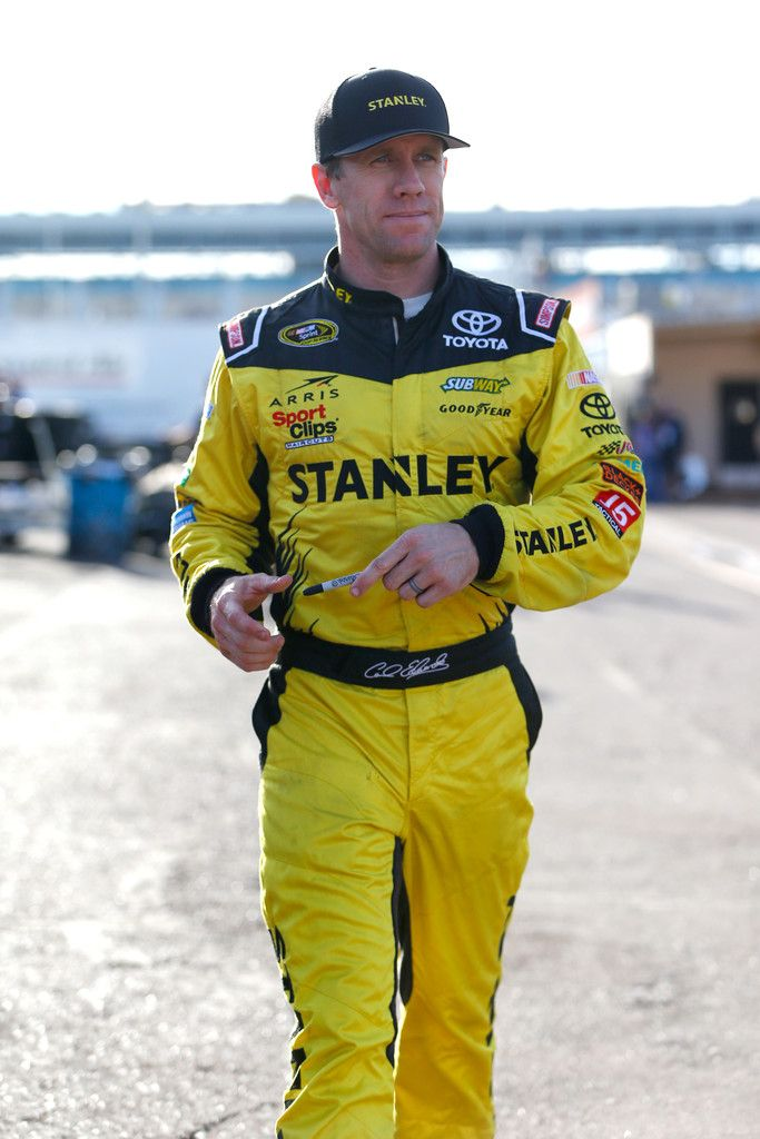 Carl Edwards Photos Photos - Carl Edwards, driver of the #19 Stanley Toyota, walks through the garage area during practice for the NASCAR Sprint Cup Series Can-Am 500 at Phoenix International Raceway on November 12, 2016 in Avondale, Arizona. - Phoenix International Raceway - Day 2