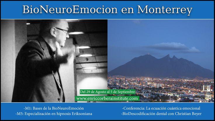 BioNeuroEmoción en Monterrey. Inscripciones en la web: www.enriccorberainstitute.com #EnricCorbera