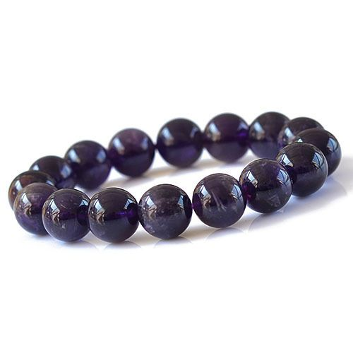 Sexy Women Girl Grade A Natural Uruguay Amethyst Bracelet Lovely Fashion Great Quality Hand Chain Bangle Dark Purple 6-12mm http://www.aliexpress.com/store/1111186