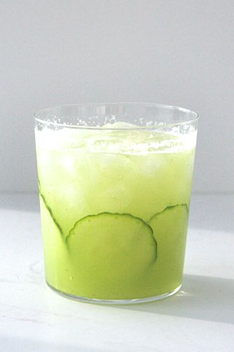 Cucumber Gimlet!