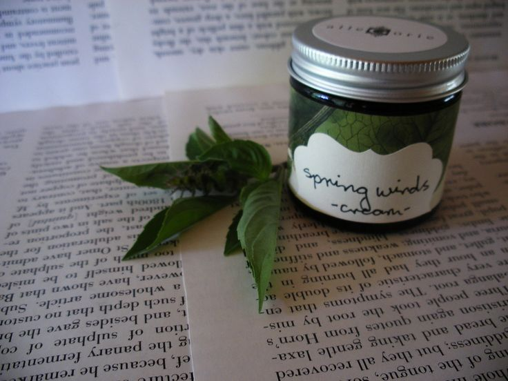 Handmade vegan skincare, made in Australia-Spring Winds- rich moisturising cream, 60ml $45.00. A rich and luxurious cream, perfect to boost circulation and provide maximum moisture for dry cool skin.  Like breath of spring wind, this moisturising cream is full of juicy fragrance to uplift and warm the senses; yucca and black willow bark