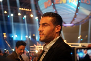 Manuel Charr boxing at 22.02.2013 in Germany