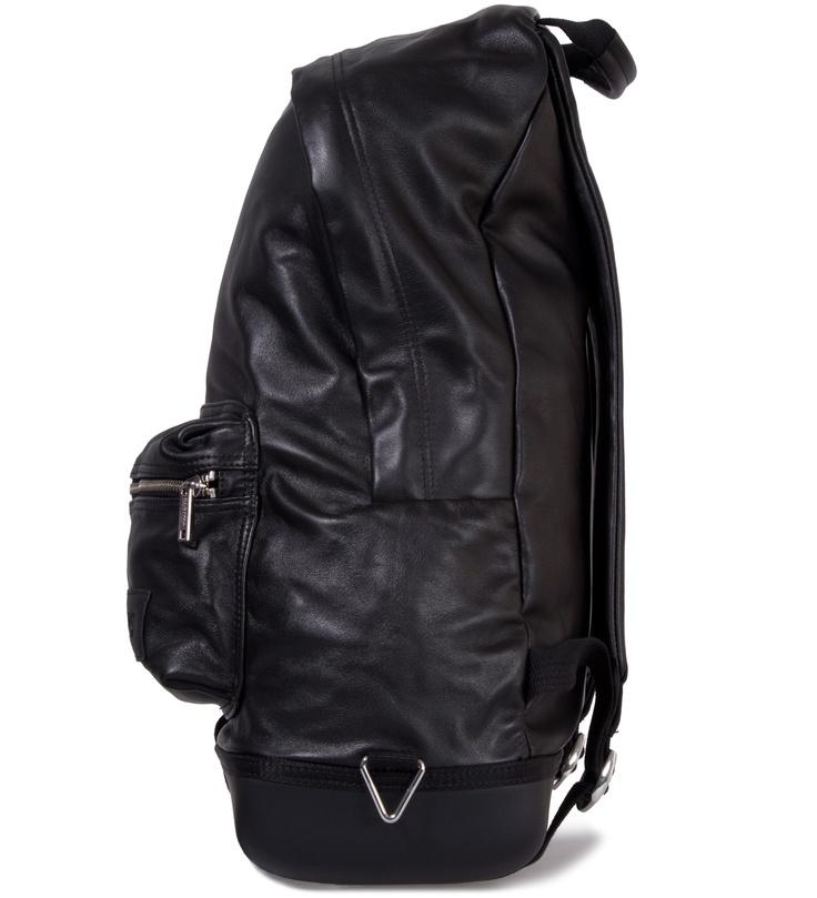 Black Leather Backpack assets4.pinimg.com