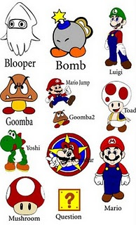 freebie Mario Brothers svg files