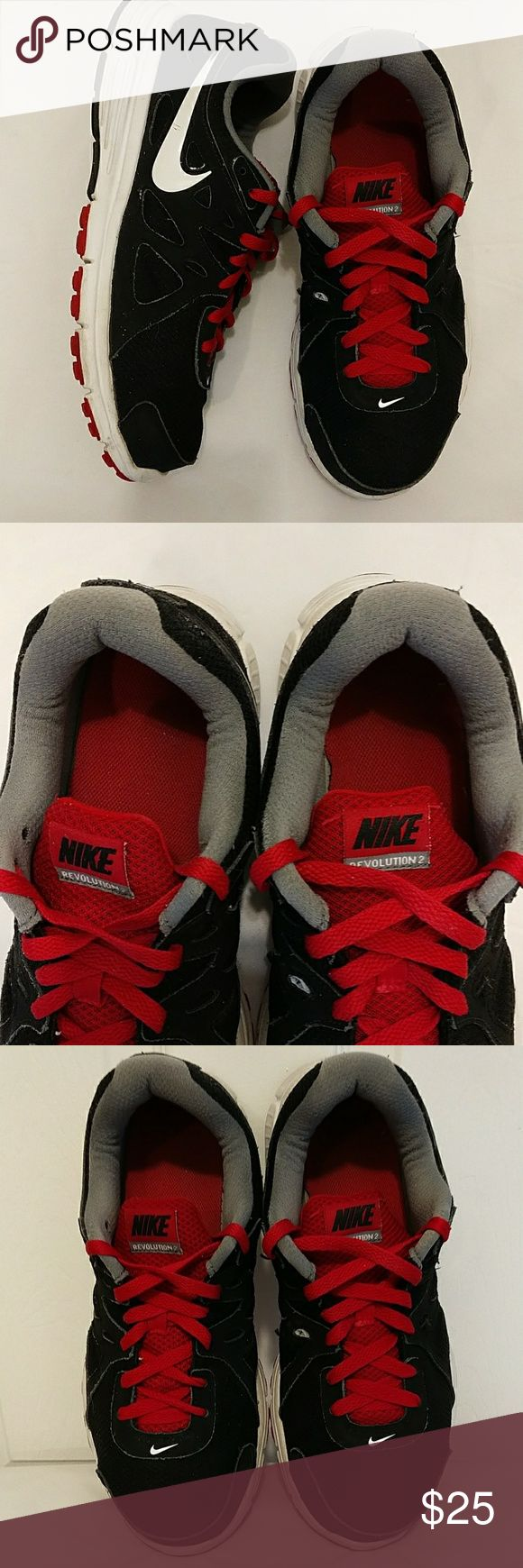 Nike revolution 2 ,size 9W, sneakers Very good condition no steans no rips,they have o lot of use left in them Nike Shoes Sneakers