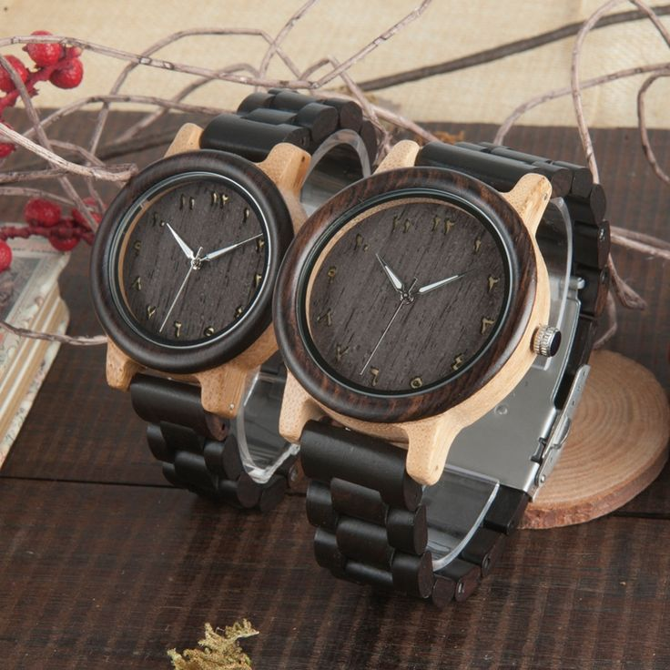MEN'S/WOMEN'S COUPLE'S ARABIC NUMERALS EBONY BAND WOODEN WATCHES IN GIFT BOX fashion Boy Guy Girl new watch womens for her ladies  Mom mum for men style internet unique products shops fashion for him  band black awesome accessories gift ideas beautiful guys dads outfit boxes pictures man gifts casual For sale buy online Shopping Websites montre en bois homme garçon papa cadeaux idées originales mode Achat Acheter en ligne Site de vente saudi arabia uae dubai qatar kuwait 2017 رجل الخشب ووتش…