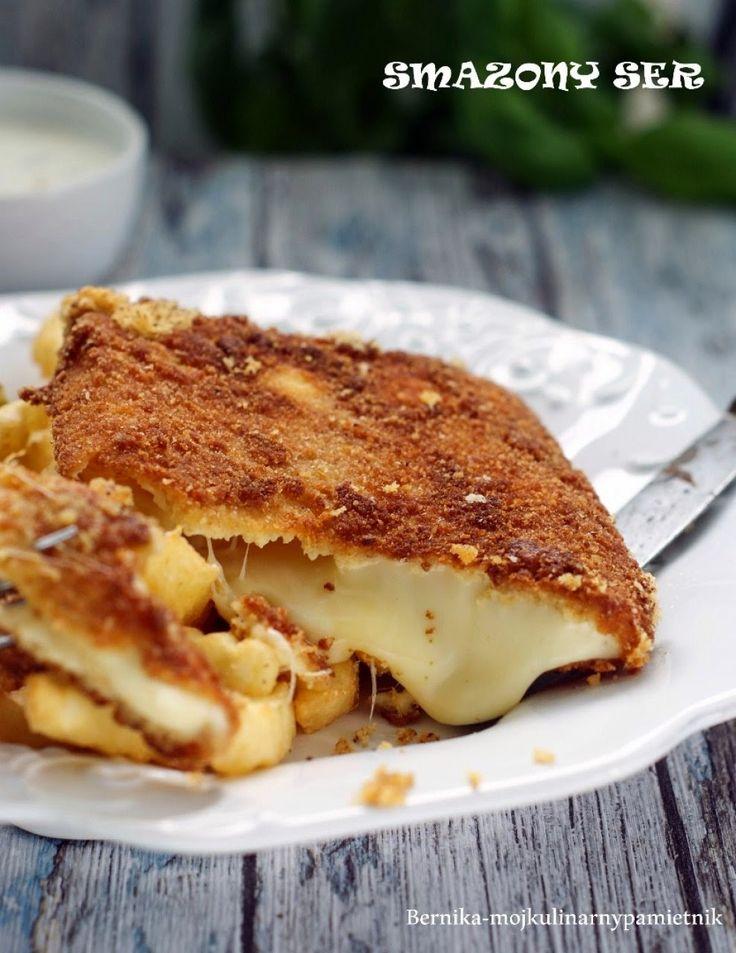 ser, smażony ser, bernika, kulinarny pamietnik, Czechy