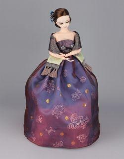 Korean Traditional Hanbok Doll