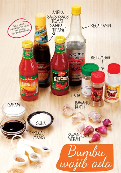 Bumbu wajib ada di dapur :: Must have items on your kitchen