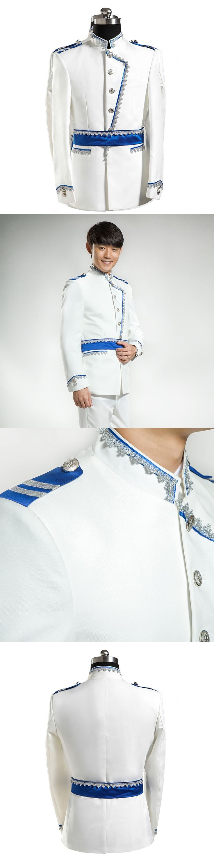 Men White Blazer Abito Uomo Cerimonia Men Cosplay Suits Slim Homme Summer Traje de Novio de Boda Hombre Mens Suit Jacket Blazer