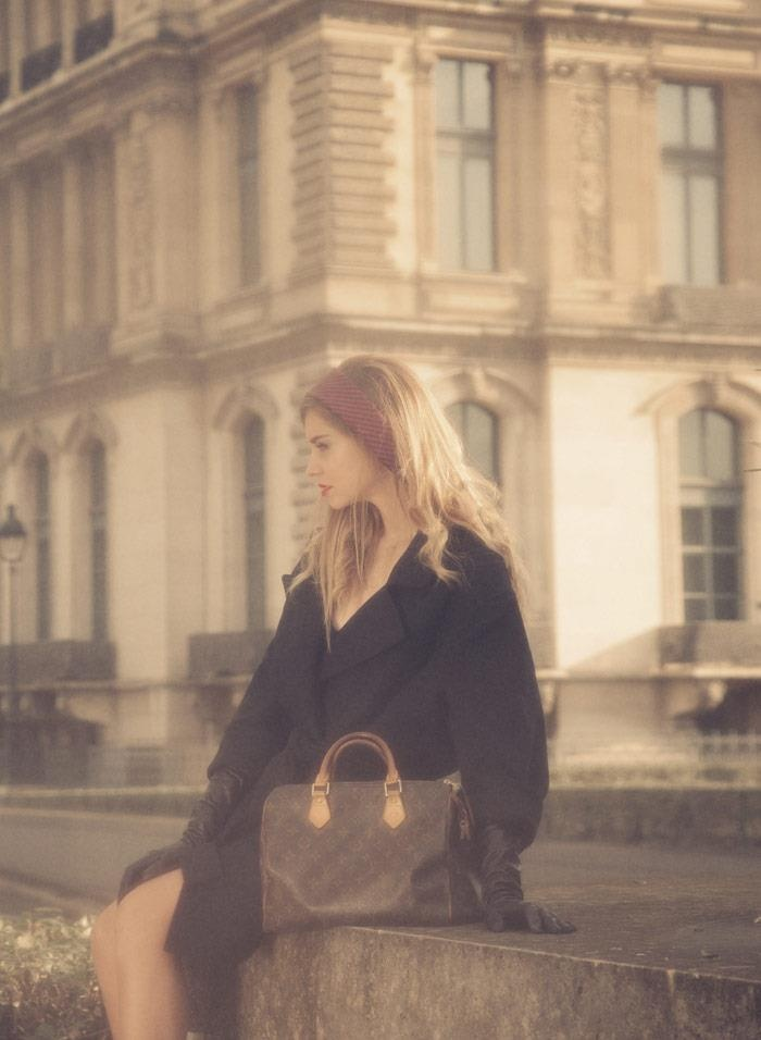 Chiara Ferragni from the Blonde Salad shares memories of receiving her first designer bag, the timeless Louis Vuitton Speedy Monogram.