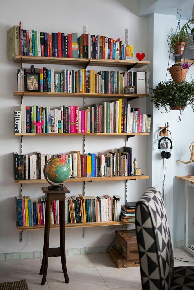 livros, biblioteca, sala de leitura, prateleira