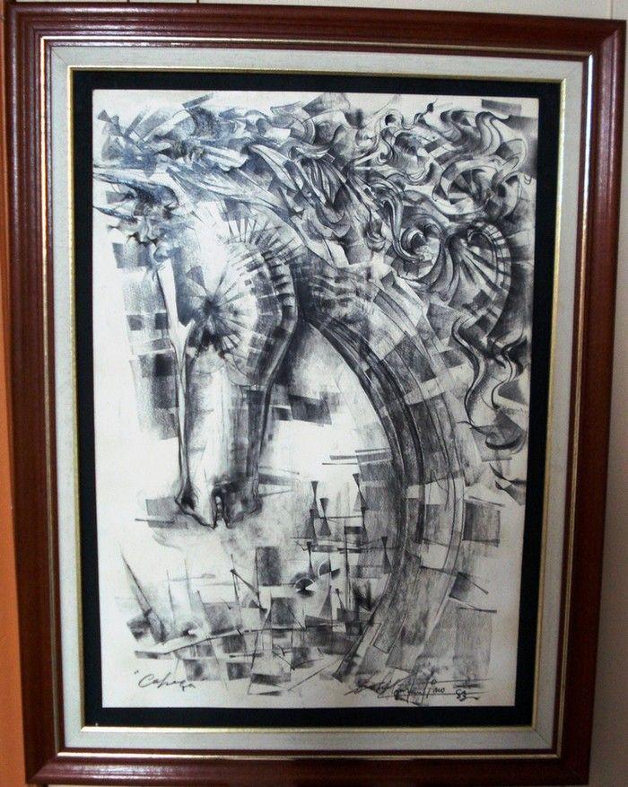 Gabriel constantino  Detalhes : Desenho em grafite preto nº6