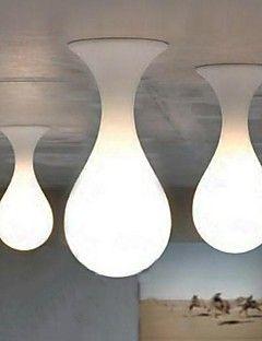 Vedhæng Lys LED Moderne / Nutidig Stue/Spisestue/Soveværelse/Læseværelse/Kontor Glas