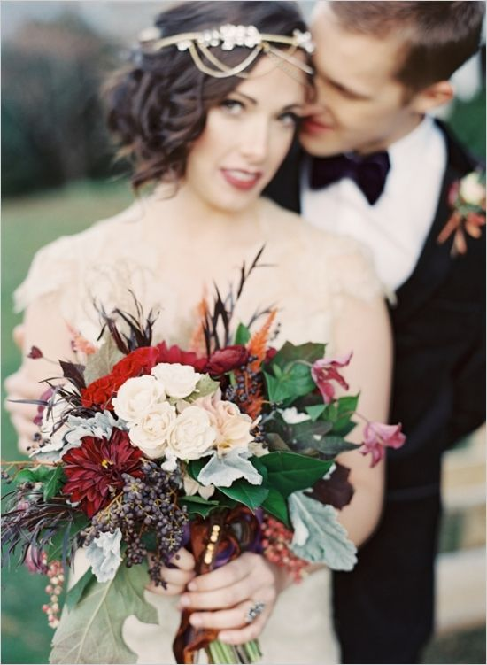 fall wedding bouquetWedding Inspiration, Hair Piece, Fall Wedding Bouquets, Fall Bouquets, Colors Combinations, Head Piece, Color Combinations, Fall Weddings, Fall Flower