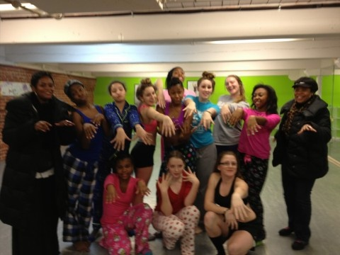 PJ Party at studio!  Too much fun!