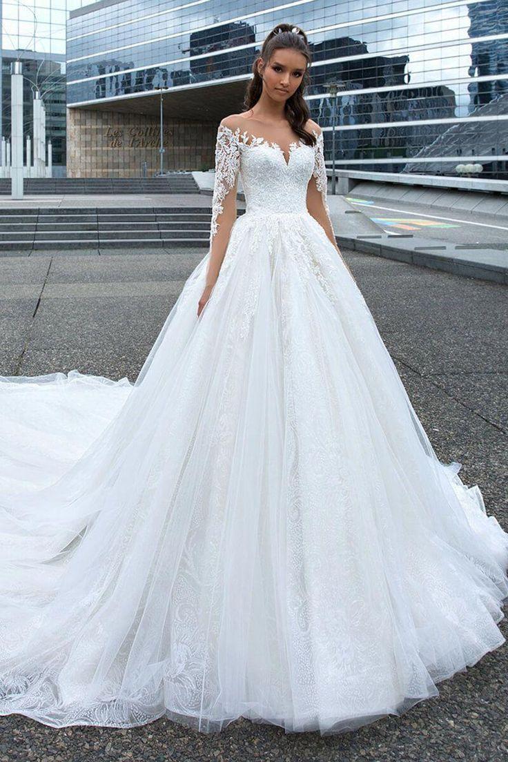Bycouturier #Hochzeitskleidärmel  Ballkleid hochzeit, Hochzeit