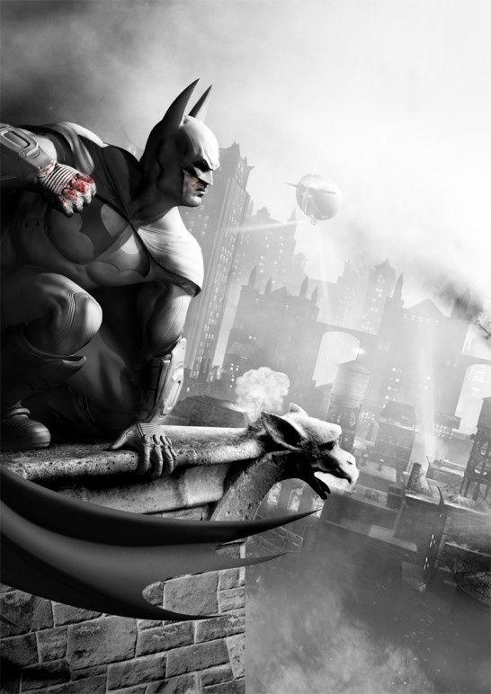 Batman Concept Art: Batman Arkham City Community
