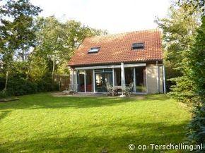 Vakantiehuis `Villa Midsland` ligt in Midsland Noord op Terschelling www.villa.midsland.op-terschelling.nl