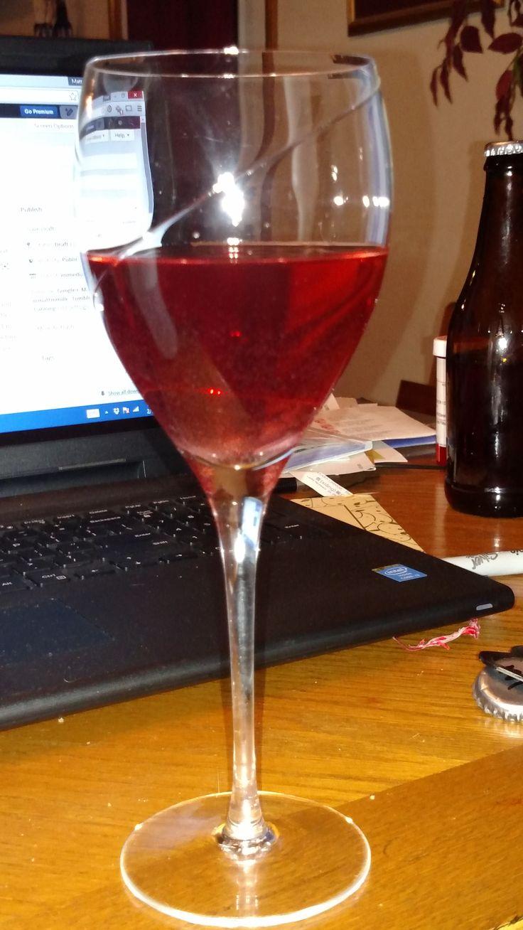 Opening A Bottle Of Muscadine Wine Muscadine Wine Wine Wine Making