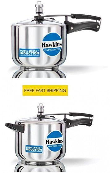 ORIGINAL HAWKINS INDUCTION 3 LITRE STAINLESS STEEL CODE B 33 TALL WORKS ON GAS AND INDUCTION PRESSURE COOKER WITH DHL SHIPPING 4-5 DAYS DELIVERY