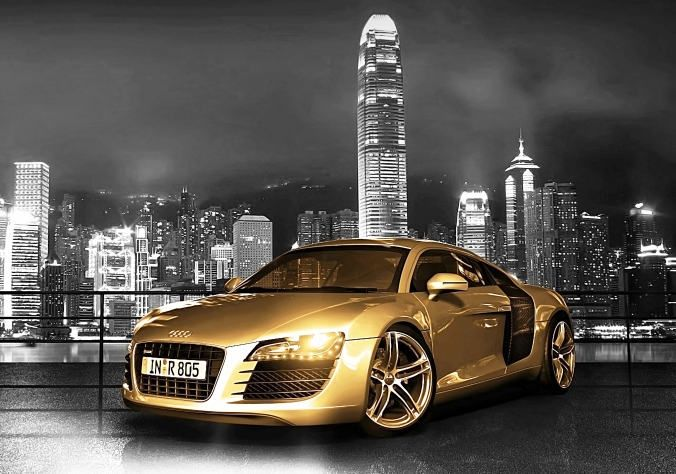 chrome gold car wallpaper - photo #5