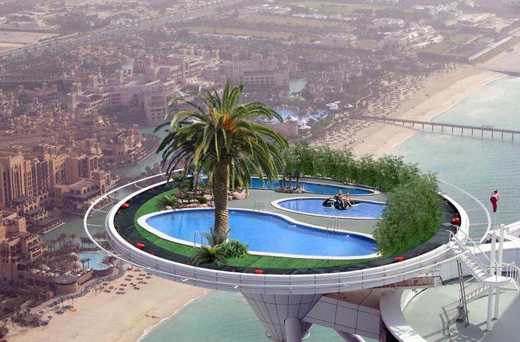 Dubai sky pool design architecture pinterest for Pool design dubai