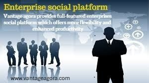 Vantage agora provides full-featured enterprises social platform which offers more flexibility and enhanced productivity. We develops Enterprise social platform which have been increasing in use during the last few years.